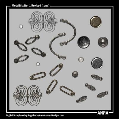 Anna Aspnes - Metal Mix No. 1 Revised