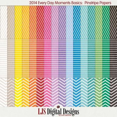 LJS Digital Designs - Pinstripe Papers