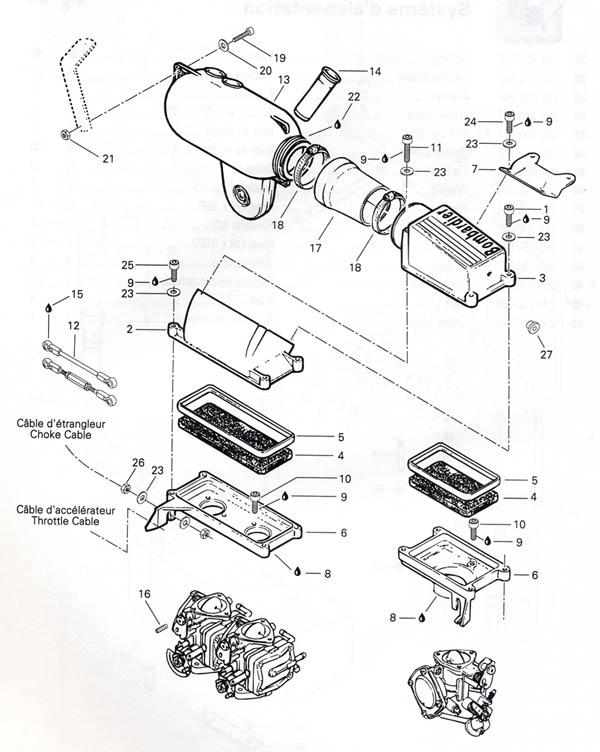 32 Digram Taurus 1994 Sho Yamaha Intake