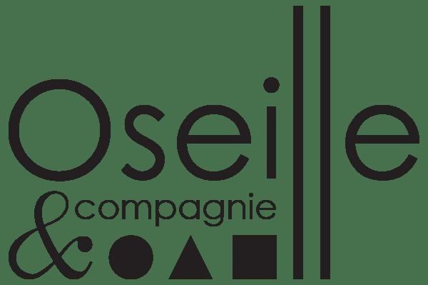 Logo Oseille & Compagnie - noir et blanc