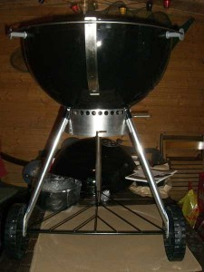 Montage Weber One Touch Premium Special Edition