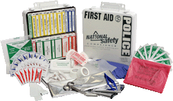 Police First Aid Kit 24 Unit