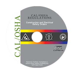 CAL/OSHA Construction Industry Regulations on CD