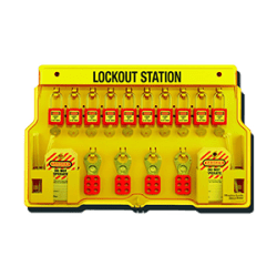 10-Lock Lockout Station