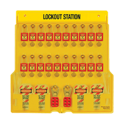 20-Lock Lockout Station