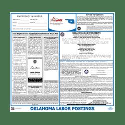 Oklahoma Labor Law Poster