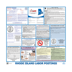 Rhode Island Labor Law Poster