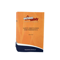 Safety Orientation for Foodservice Training Booklets (pkg of 10)