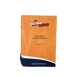 Machine Safeguarding Training Booklets (pkg of 10)