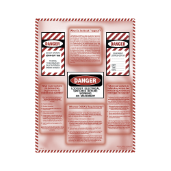 Lockout/Tagout Informational Poster
