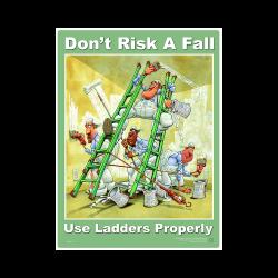 Ladder Safety Poster