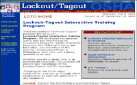 Lockout-Tagout Interactive Training Program