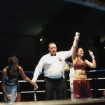 Oshin Derieuw kroont zichzelf opnieuw tot wereldkampioen ten nadele van Dahiana Santana