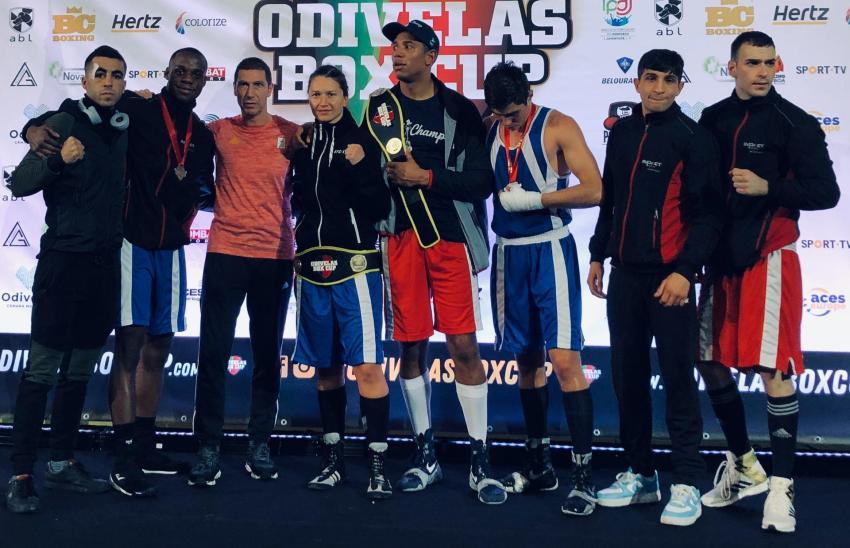 Oshin Derieuw op Odivelas Box Cup