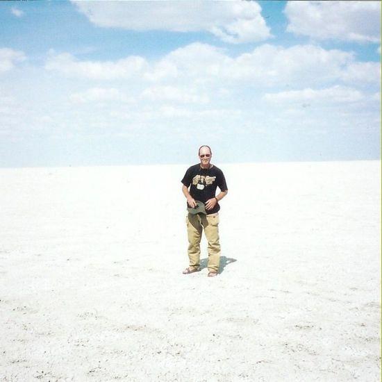 2001 Jan Salt Flats Namibia - A Blank Canvas