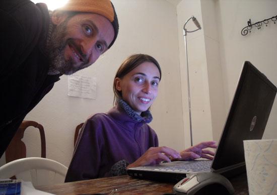 Adri with Sasha
