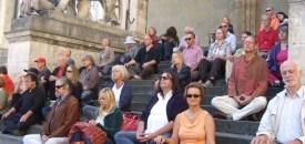MedMob at the Odeonplatz in Munich