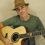 Arnavah with guitar