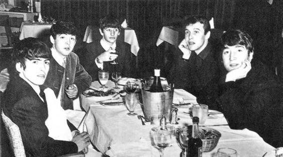 Tony Sheridan with The Beatles