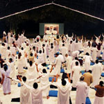 Oshodham White Robe Meeting