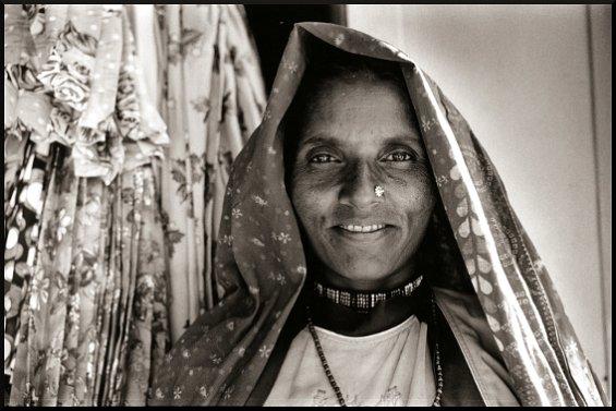 Garasia Woman, Virampur