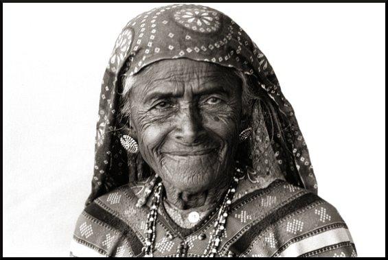 Zura Village Woman 1, Kutch