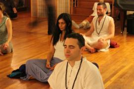 evening meditation at Osho Padma 2012