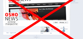 Facebook Discrimination: <br />Osho Demoted from Personhood