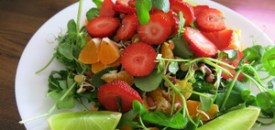 Fruit and Sprout Salad