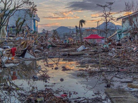 Tacloban, near the seafront