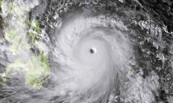 monster typhoon Philippines Haiyan