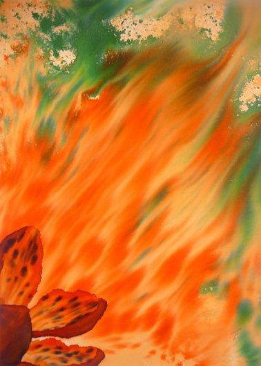 Fire-bloom