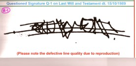Osho's Signature On Alleged 'Will' Is a Forgery