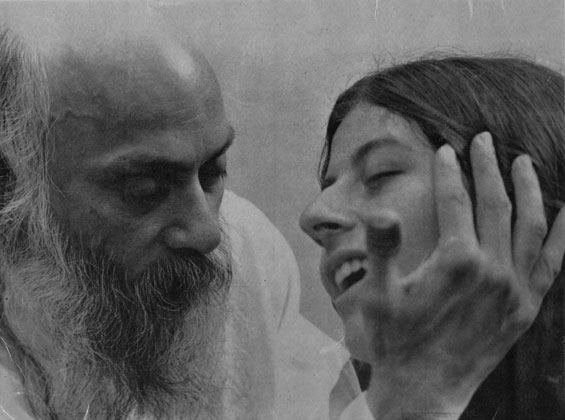 Osho and Radha