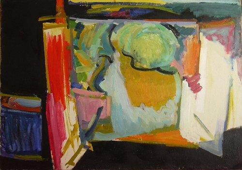 painting by Rashid