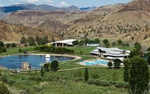 mandir and pool