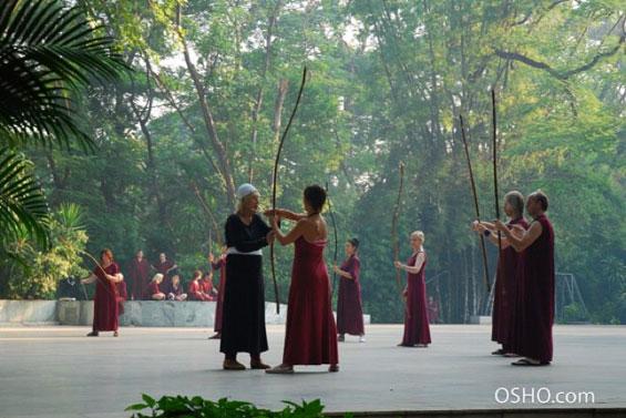 Archery in Buddha Grove