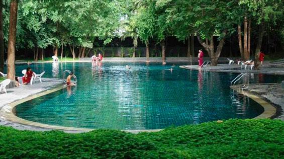 Pool at the Osho International Meditation Resort