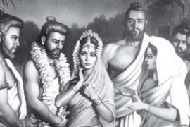 Draupadi and 5 Pandava brothers Feat.