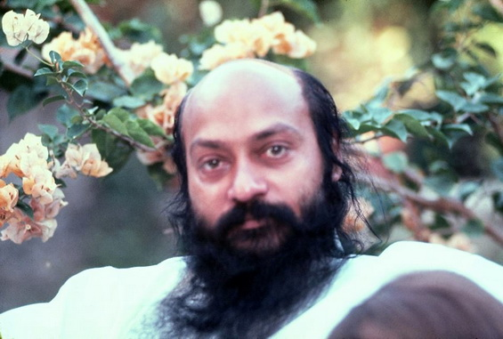 Osho on terrace
