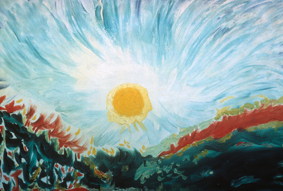 painting by Wilhelm Reich