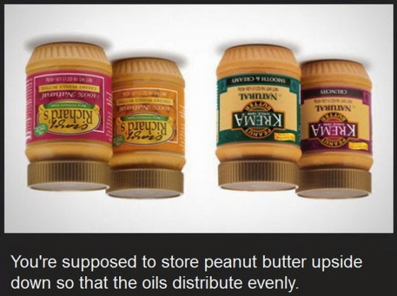 Peanut butter jars