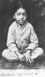 Krishnamuti 6 years old