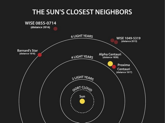 Sun's closest neighbours