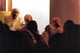 darshan with Osho