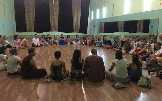 Festival sharing circle