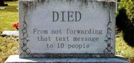 Gravestone Humour