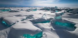 Ice music on Lake Baikal