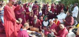 Devotees from all corners attend Sambodhi Diwas