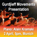 Gurdjieff Movements Presentation in Munich, 2 April 2017